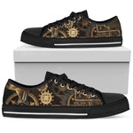 Steampunk Gear Shoes (Men's) - Hello Moa