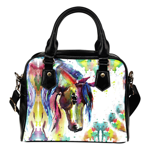 Image of Watercolor Horse Handbag