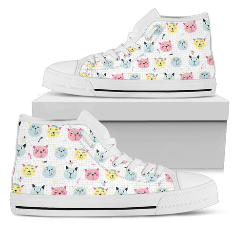 Image of Cats & Birds Canvas Shoes