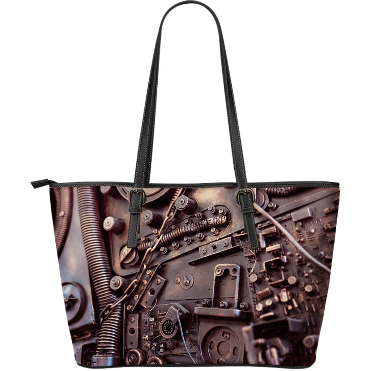 Steampunk Circuit 3 Large Tote - Hello Moa
