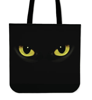 Cat Eyes Cloth Tote Bag - Hello Moa