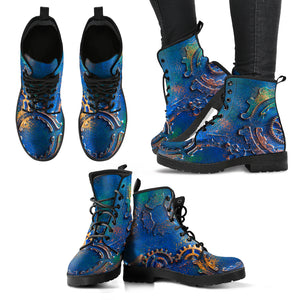Blue Rust Boots (Women's)