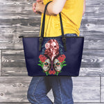 Whisper Sugar Skull Large Tote - Hello Moa