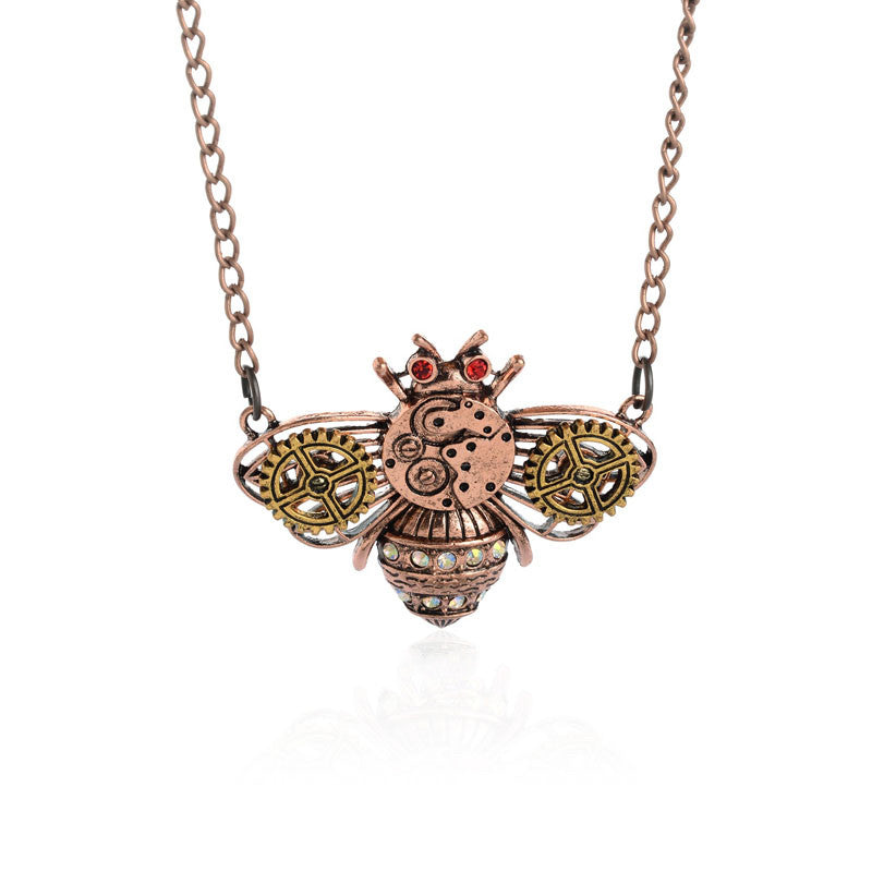 Steampunk Pendant Necklace - Hello Moa
