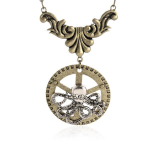 Steampunk Pendant Necklace Offer