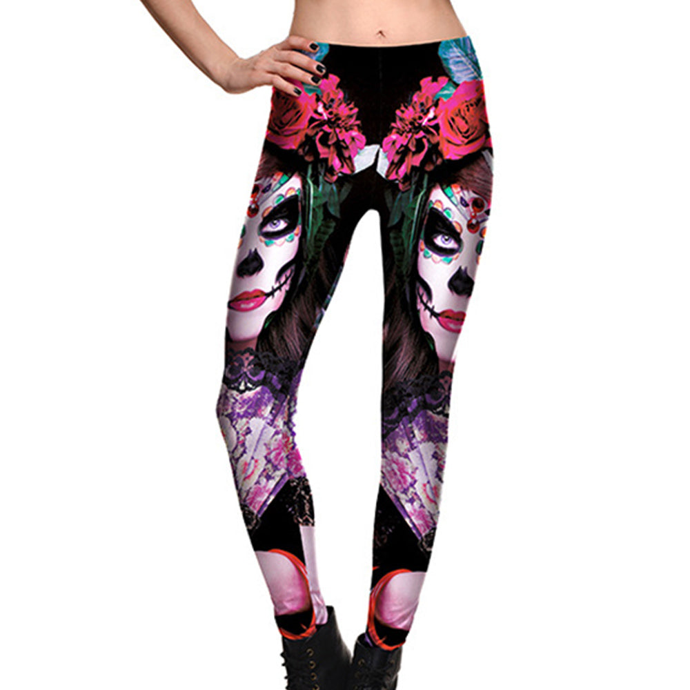 Calavera Leggings - Hello Moa