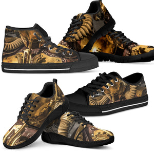 Express Steampunk Gas Shoes (Men's) - Hello Moa