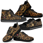 Steampunk Gear Shoes (Women's) - Hello Moa