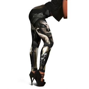 Hidden Skull Leggings - Hello Moa