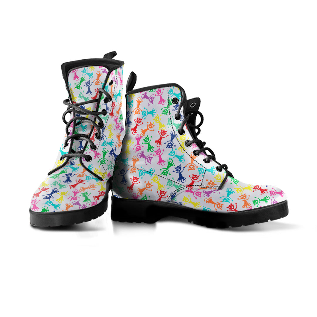 Express Funny Cat Boots (Women's) - Hello Moa