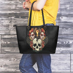 Old Sugar Skull Large Tote - Hello Moa