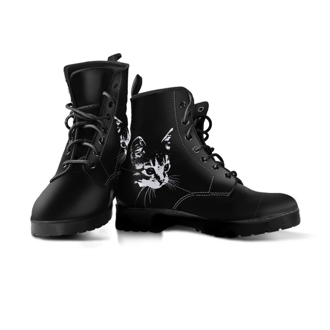 Express Black Cat Boots (Women's)