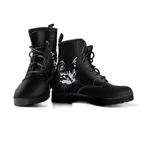 Black Cat Boots (Women's) - Hello Moa