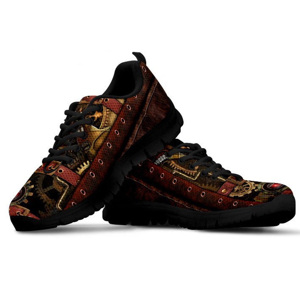 Steampunk Running Shoes - Hello Moa