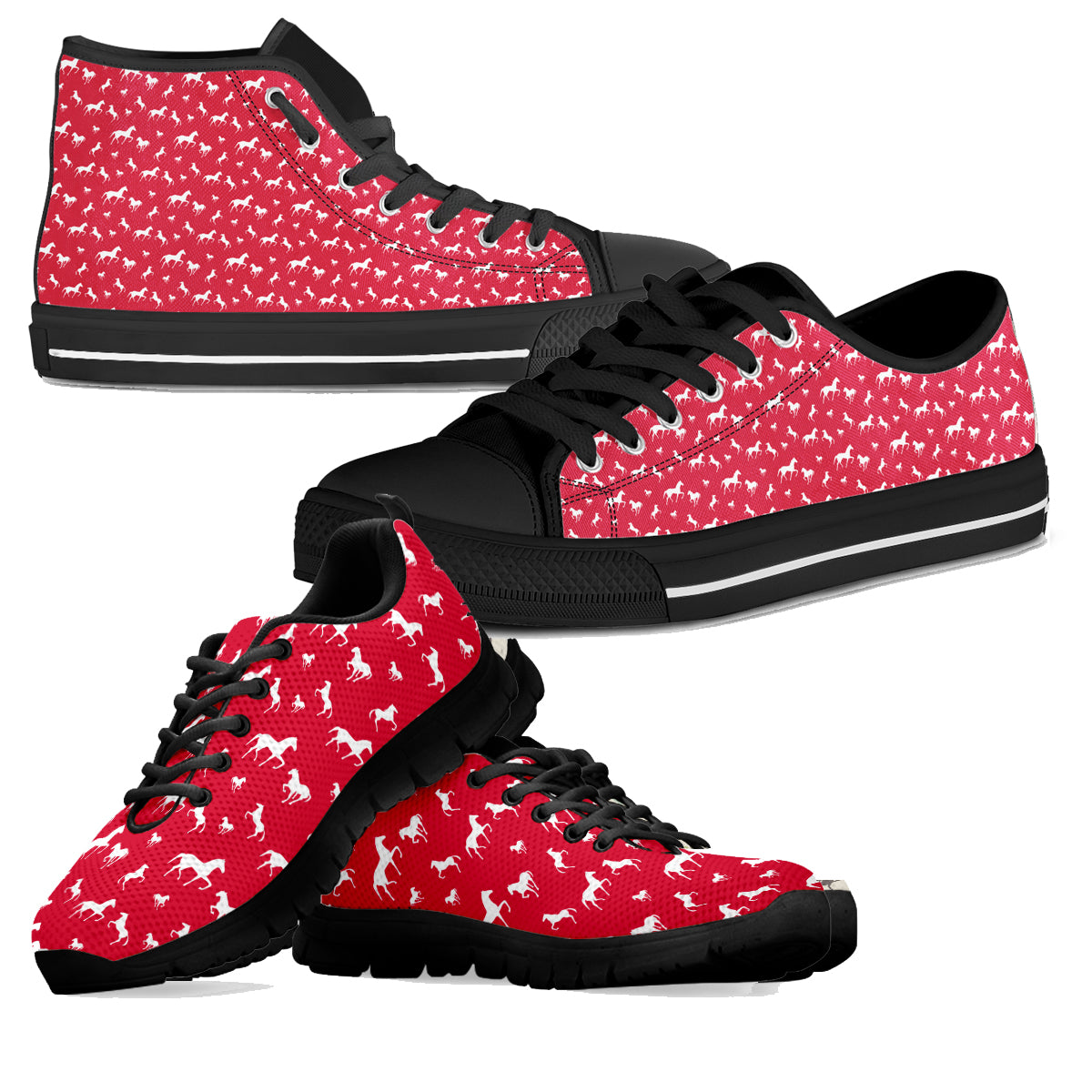 Red Horse Shoes (Women's)