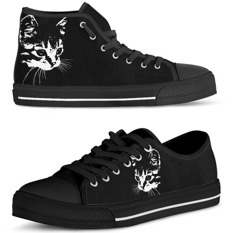 Black Cat Shoes