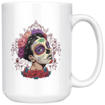 Sugar Skull Calavera Coffee Mug