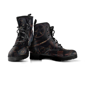 Express Brown Gear Boots (Men's) - Hello Moa