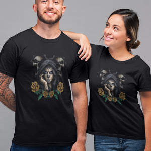 Yellow Rose Sugar Skull Tees