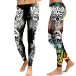 Miserable Skull Leggings - Hello Moa