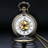 Rib Steampunk Fob Watch