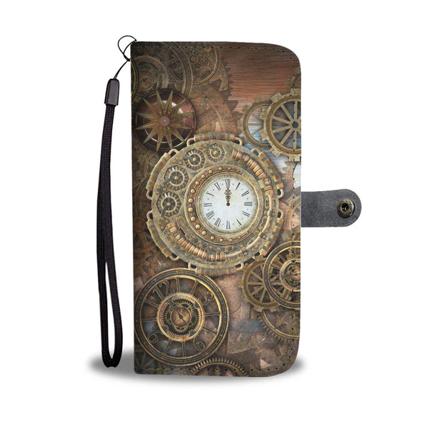 Steampunk Clocks & Cogs Wallet