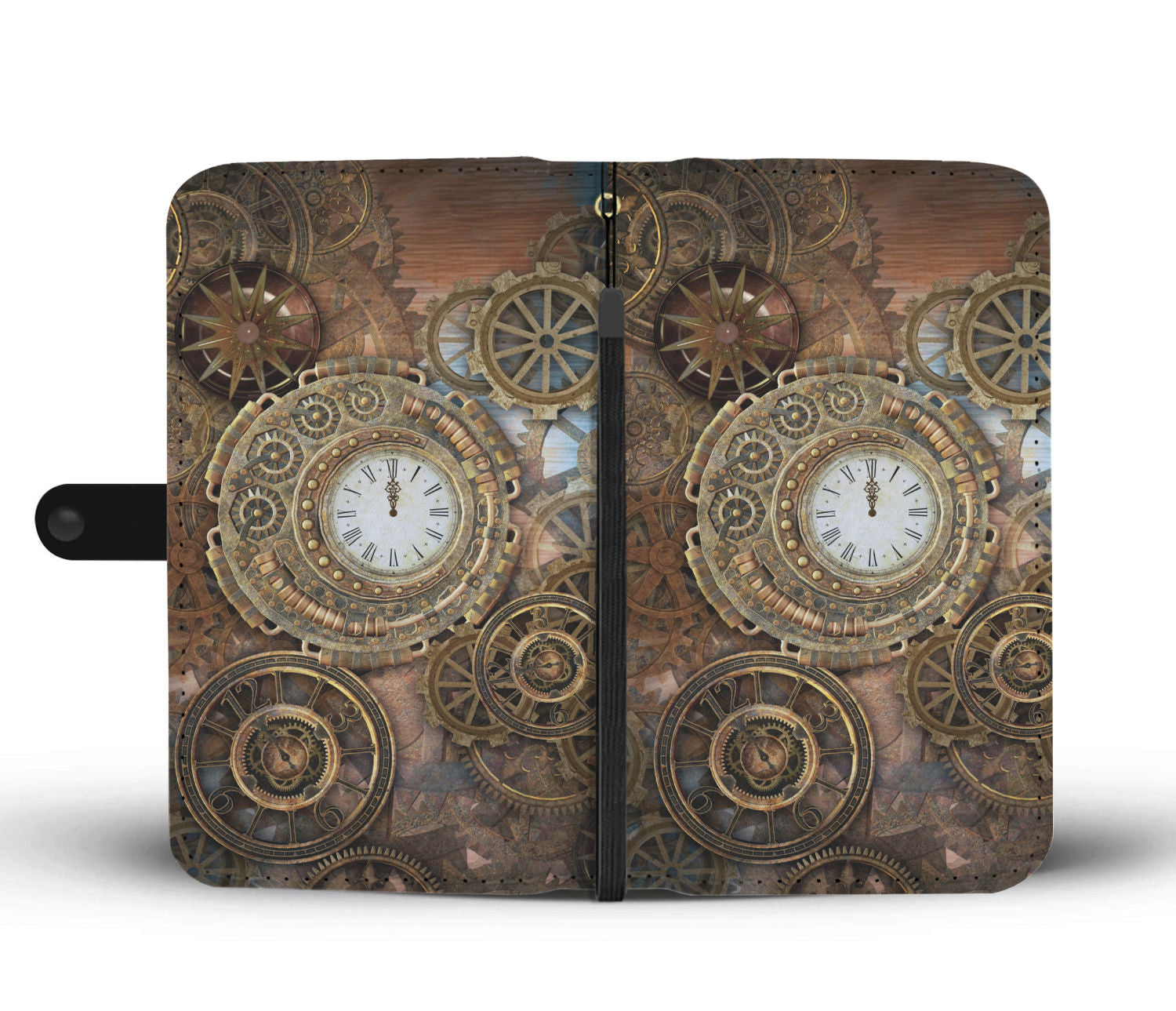 Steampunk Clocks & Cogs Wallet - Hello Moa