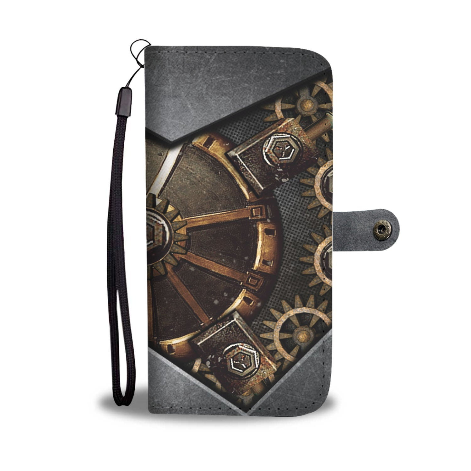 Steampunk Hidden Gear Wallet