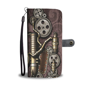 Steampunk Pipes Wallet