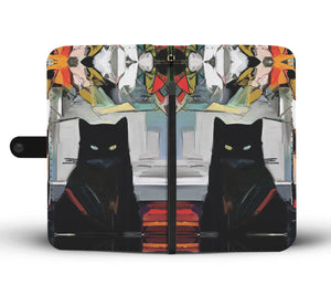 Cat Art II Wallet - Hello Moa