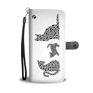 Cat Paws Wallet - Hello Moa