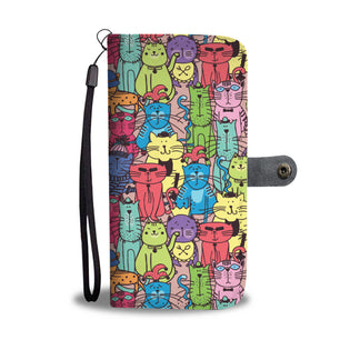 Cat Lovers Phone Wallets & Purses