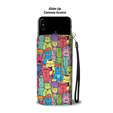 Image of Cartoon Cat Wallet