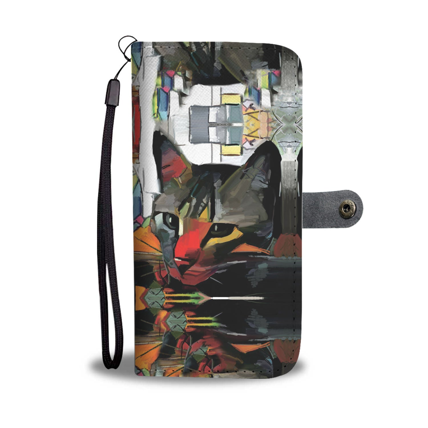 Cat Art III Wallet
