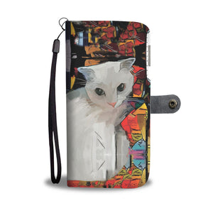 Cat Art IV Wallet - Hello Moa
