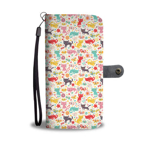 Butterfly & Cats Wallet - Hello Moa