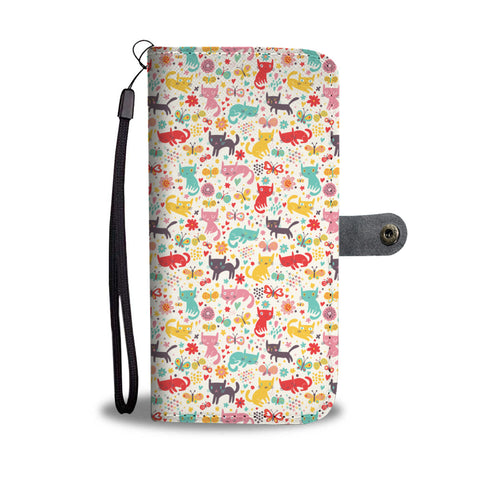 Image of Butterfly & Cats Wallet