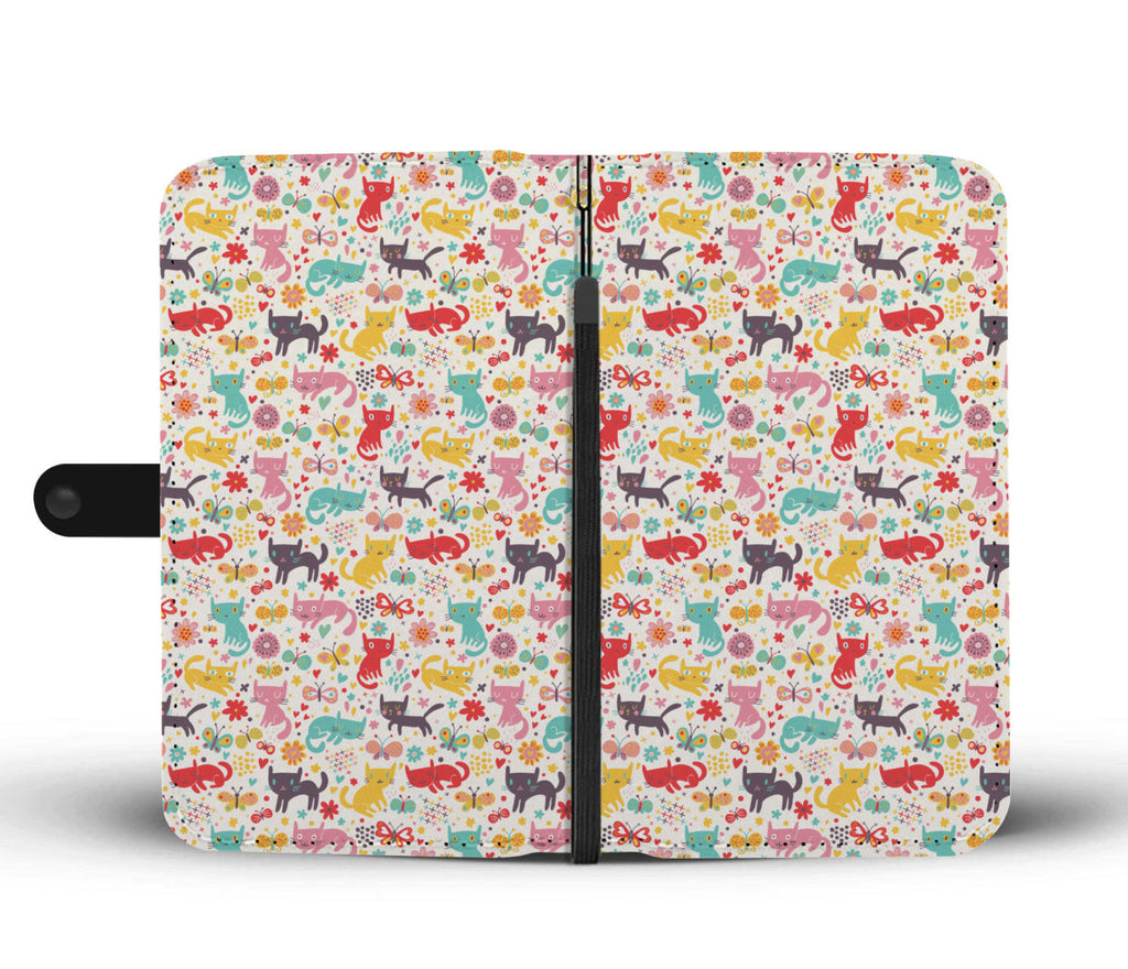 Butterfly & Cats Wallet