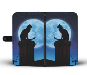Cat & Moon Wallet - Hello Moa