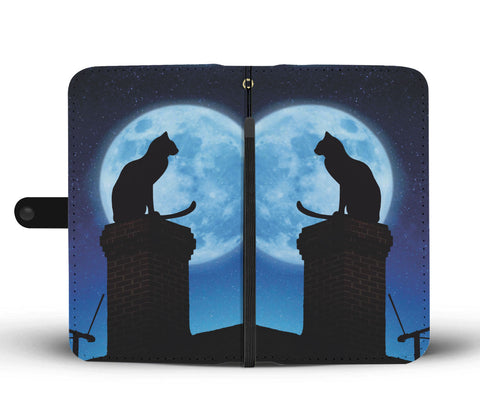 Image of Cat & Moon Wallet