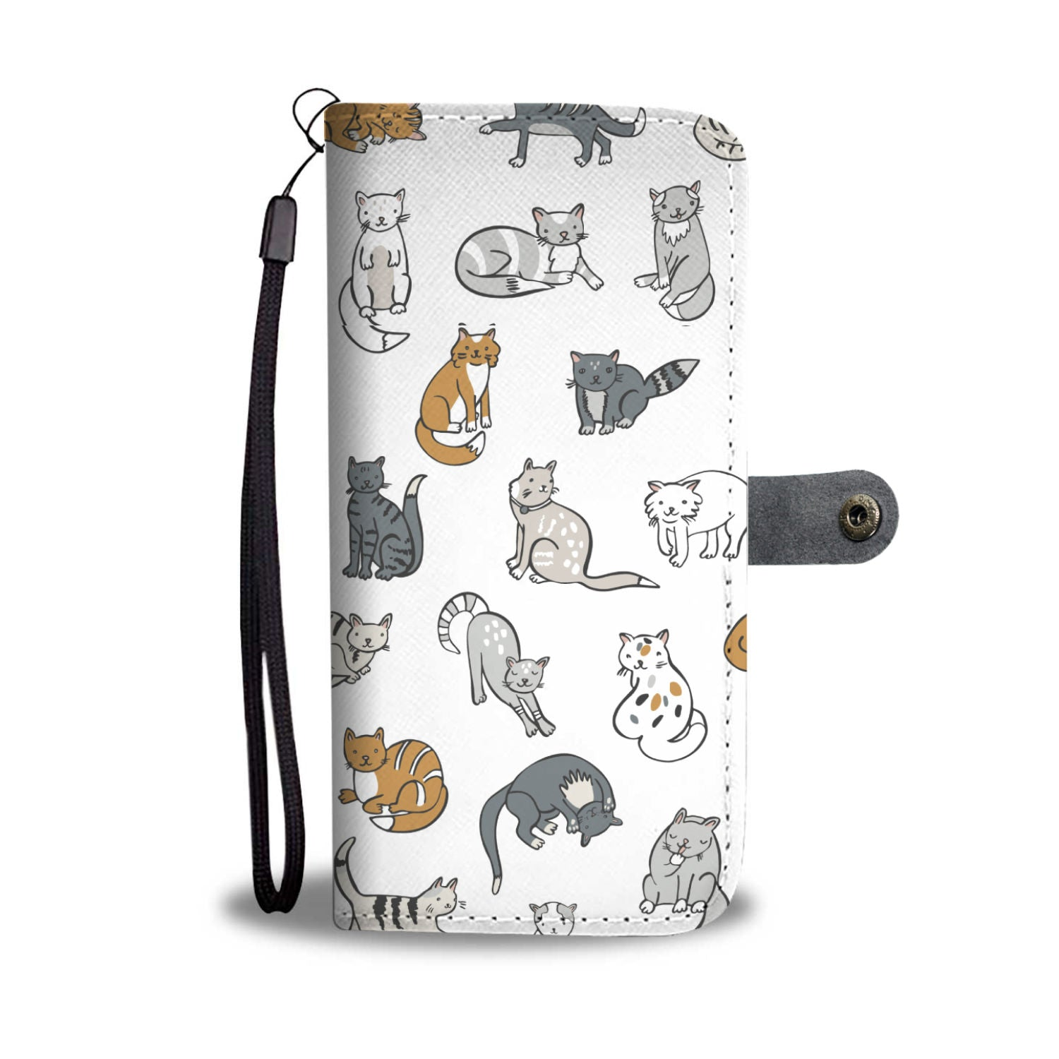 Cats Wallet - Hello Moa