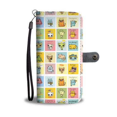 Comic Cat Wallet