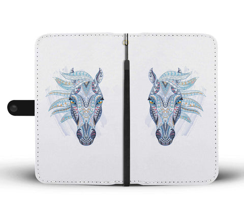 Image of Blue Horse Wallet
