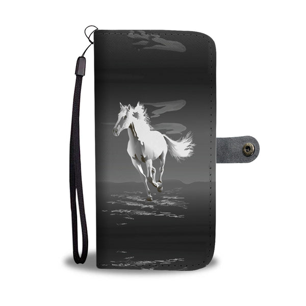 Black & White Horse Wallet