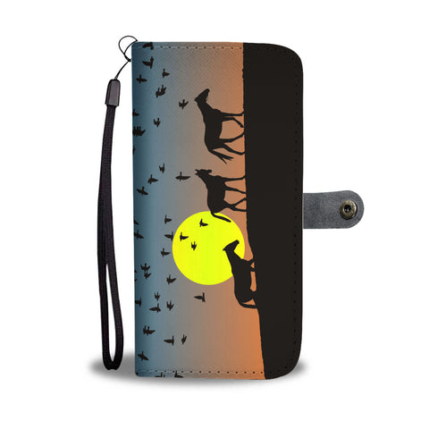 Sunrise Horse Wallet