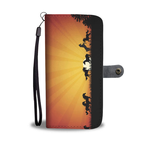 Sunset Horse Wallet