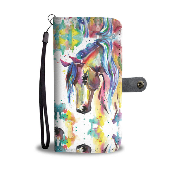 Watercolor Horse Wallet