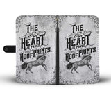 Horse Hoof Prints Wallet