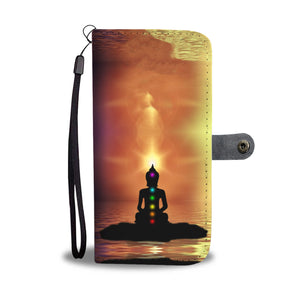 Buddha Yoga Phone Wallet