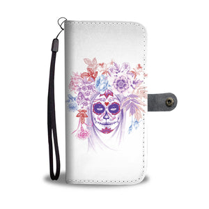 Calavera II Phone Wallet